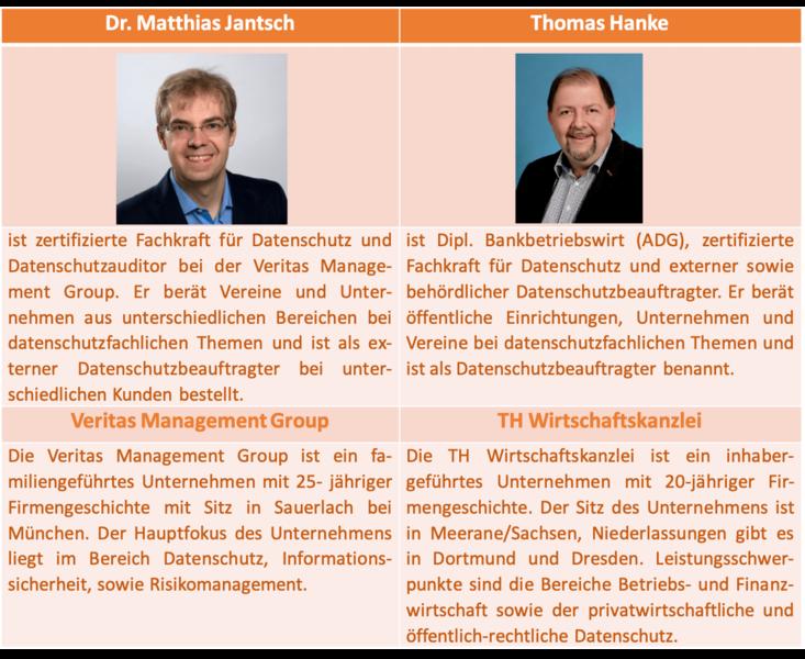 Autoren - Vereine im Fokus der Datenschutzaufsichtsbehörden - ehrenamt24