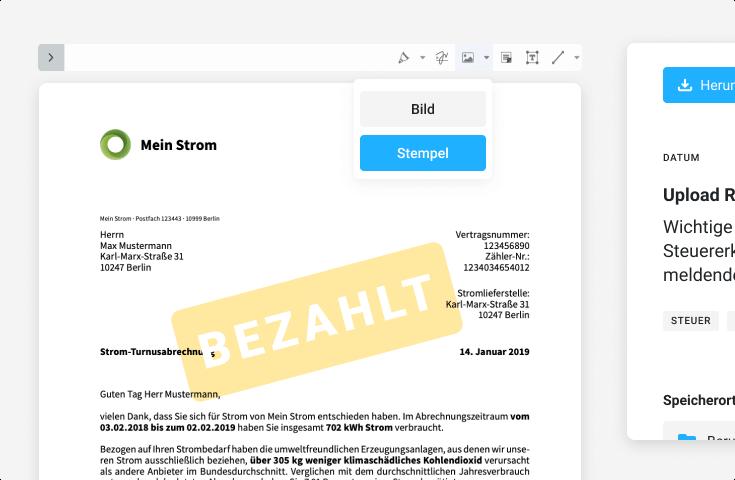 Bezahlt - Postdigitalisierung & Dokumentenmanagement für Vereine & Verbände - VereinsSoftware - ehrenamt24