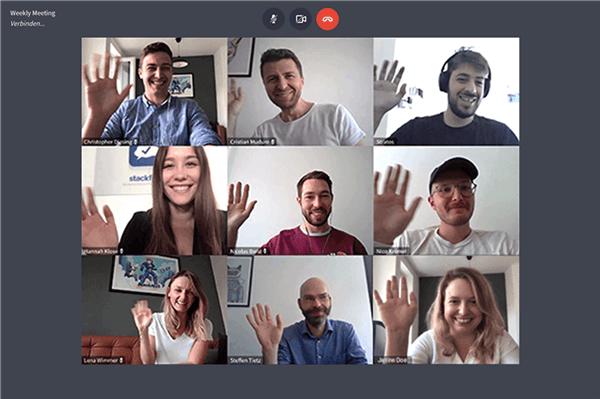 Videokonferenz - Kommunikation - Projektmanagement-Tool für Vereine & Verbände - ehrenamt24